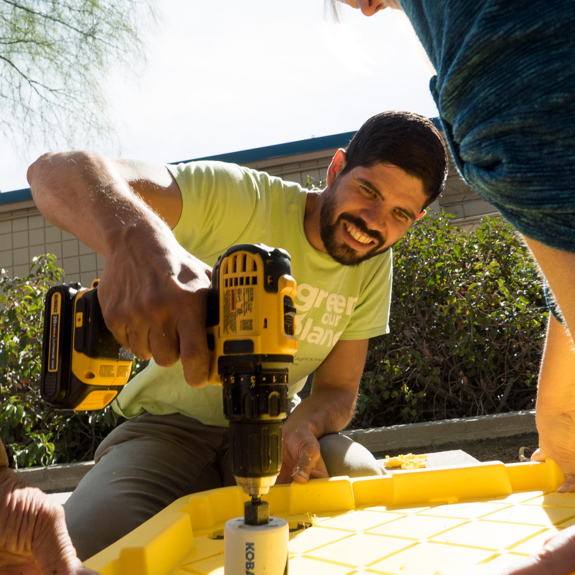 building a school garden