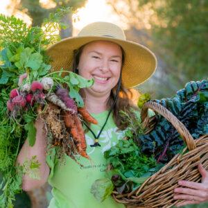 Rosalie Lavertu Farmer, Horticulturalist