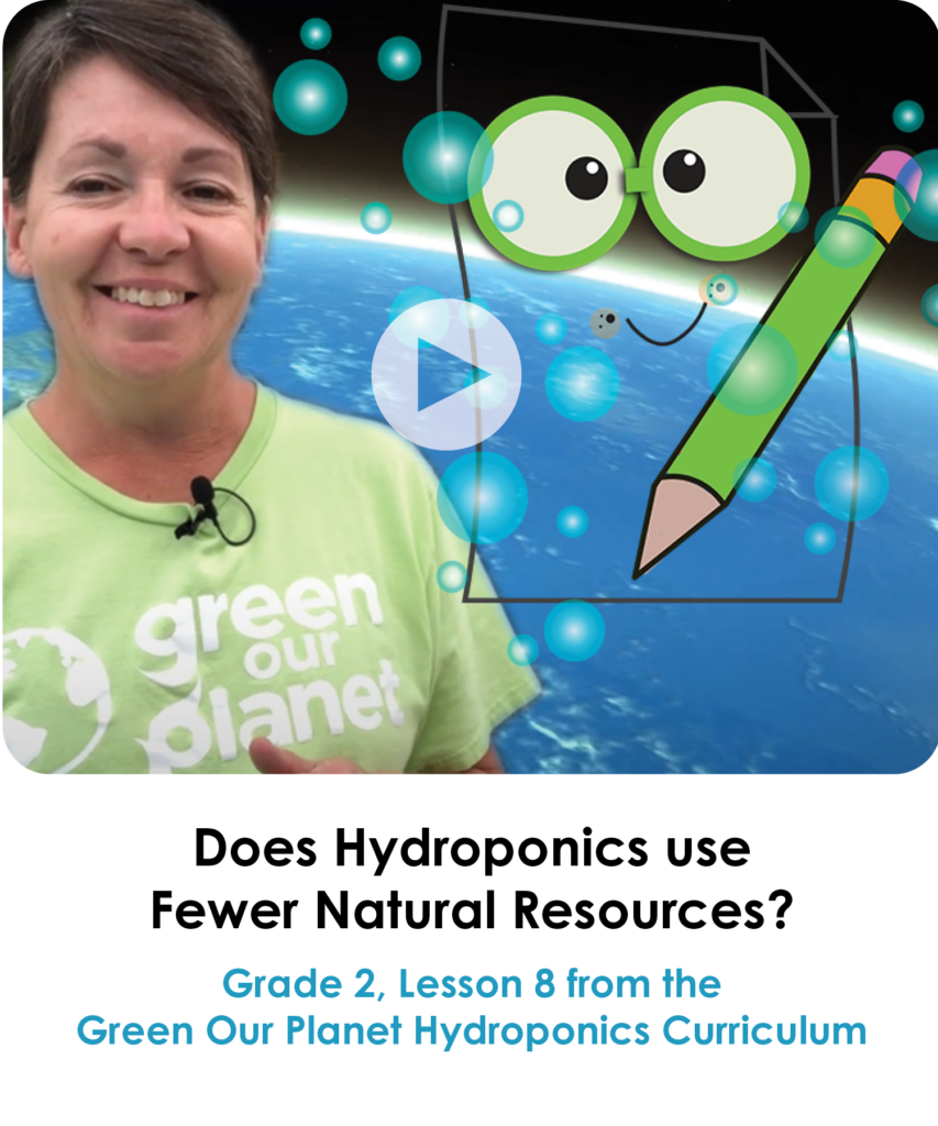 Resource Rescue Grade 2, Lesson 8 from the Hydroponics Curriculum