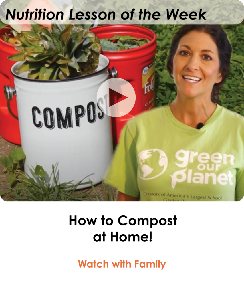 How to Compost at Home with Lisa (Lesson of the Week)