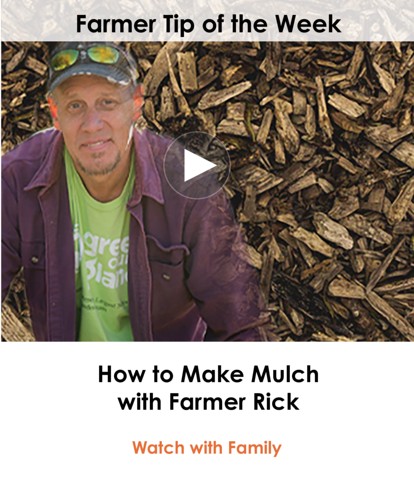 mailchimp-How to Make Mulch with Farmer Rick